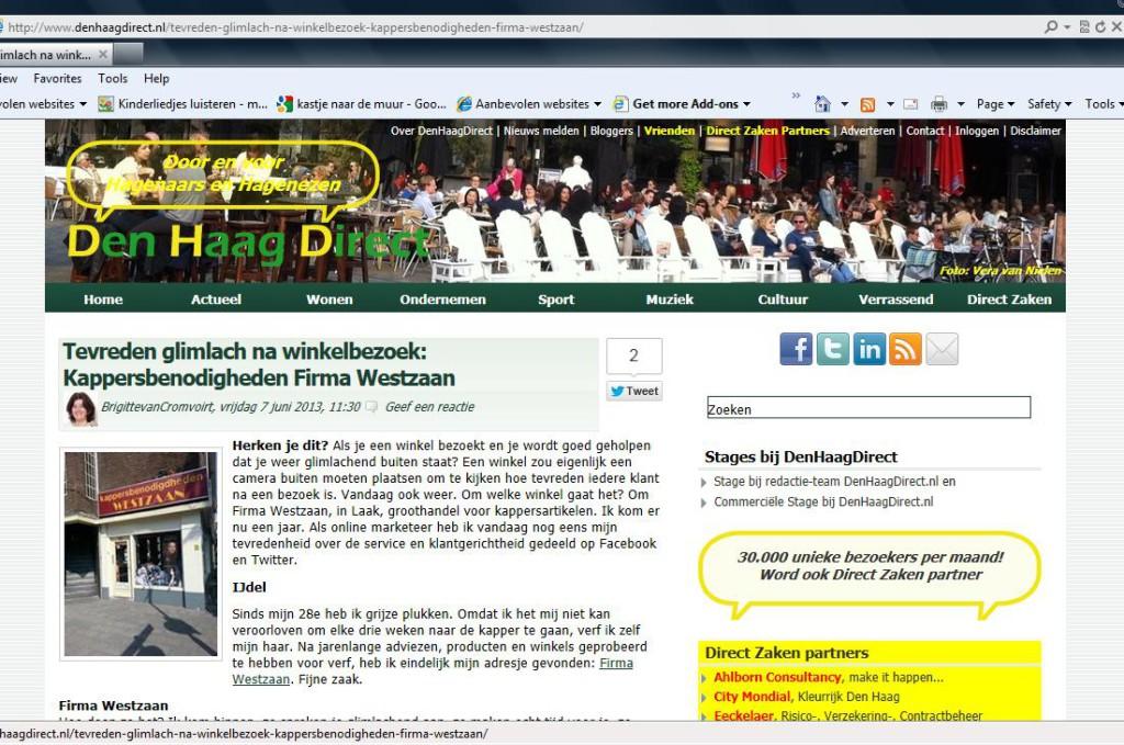 Bloggen Den Haag Direct MKB winkeliers