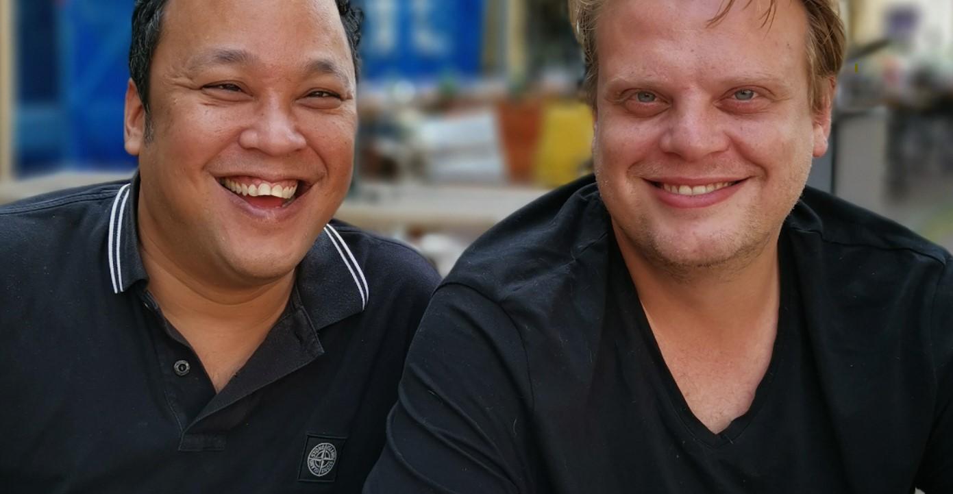 Marc van Hogerlinden en Youri Kaptein